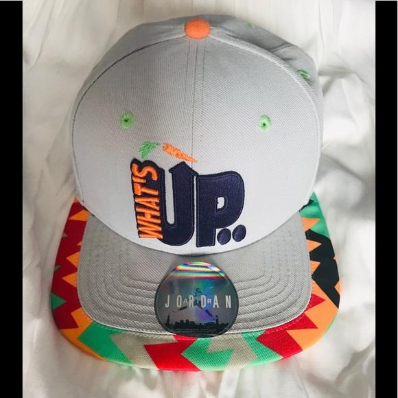 bfdacd11e8b Jordan Other - JORDAN WHAT S UP JOCK CAP